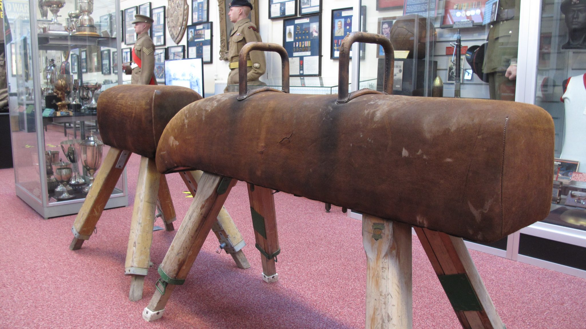 Pilgrim Trust Conservation Grant – Royal Army Physical Training Corps Museum