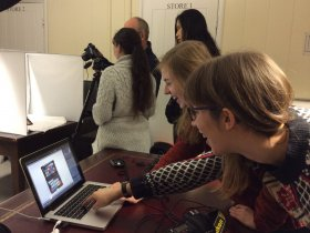 Photography training session at The Fusilier Museum