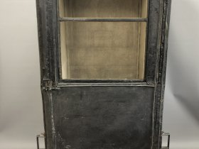 Ely Museum Sedan chair after treatment