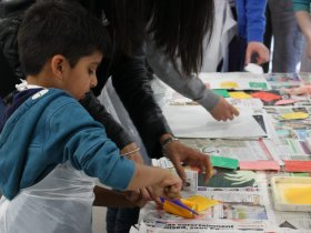 Family workshop 16 © The Foundling Museum
