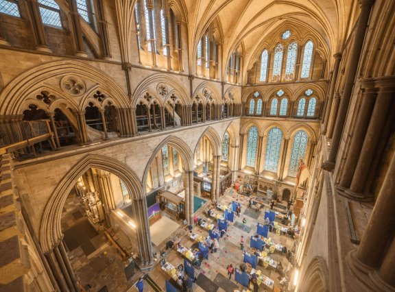 Vaccinations at Salisbury Cathedral