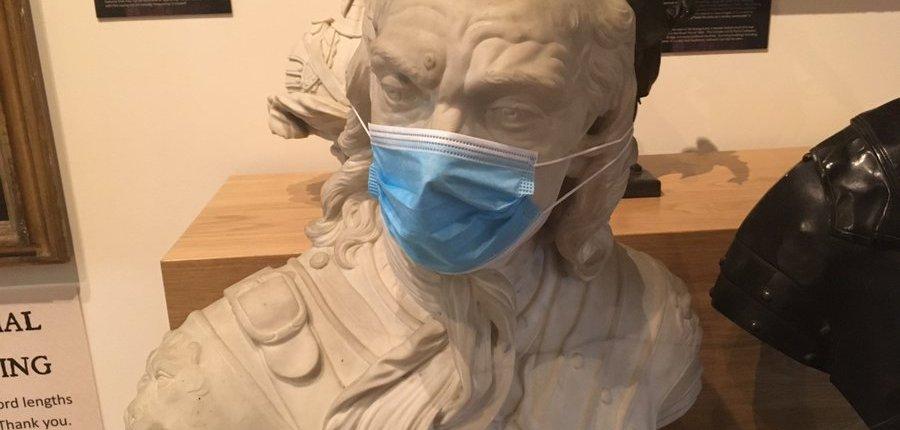 Cromwell Museum face mask