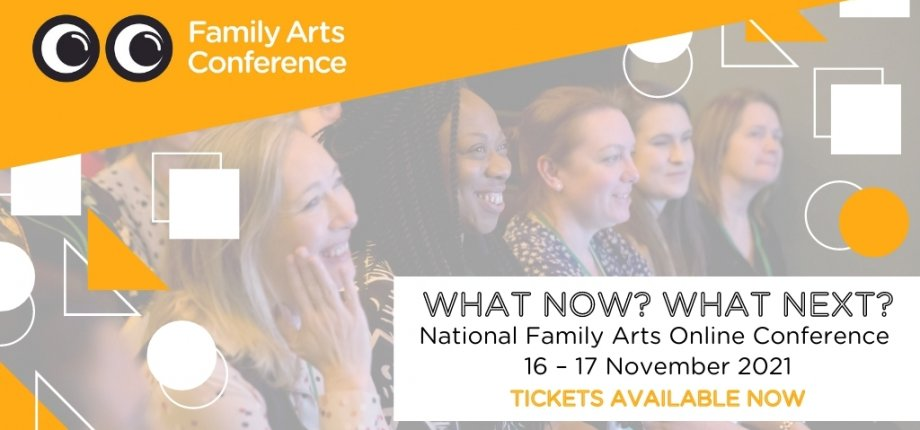 Family Arts Conference banner image